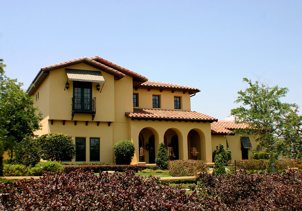 Archer building group inc themes of spanish Spanish mediterranean style house plans