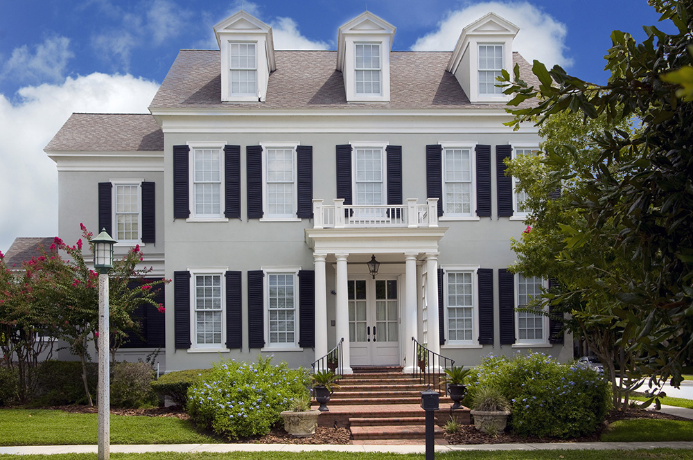 Not Only Is The American Colonial Style Of Architecture The Most Popular Home  Style In The United States, Its Direct Influences Are Found In Homes Styles  ...